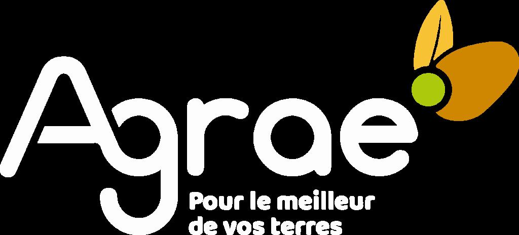 logo agrae blanc