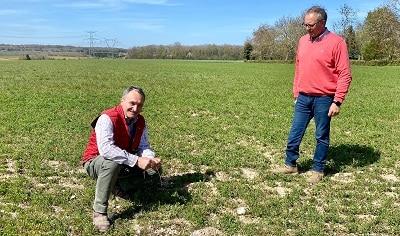 Christophe Oste et agriculteur agrae